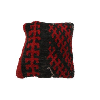 """Vintage Boho Chic Moroccan Pillow - 28""""x27"""" For Sale"""
