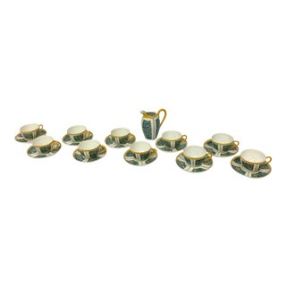 E. Dumas Limoges France Teacups - Set of 10 For Sale