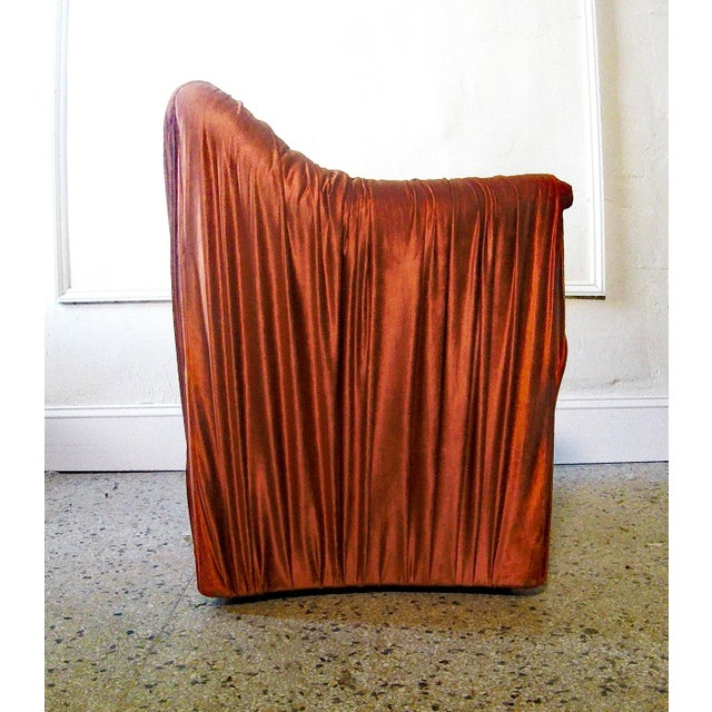 """Contemporary 1970s Mario Bellini for Cassina """"Tentazione"""" Chairs - a Pair For Sale - Image 3 of 7"""