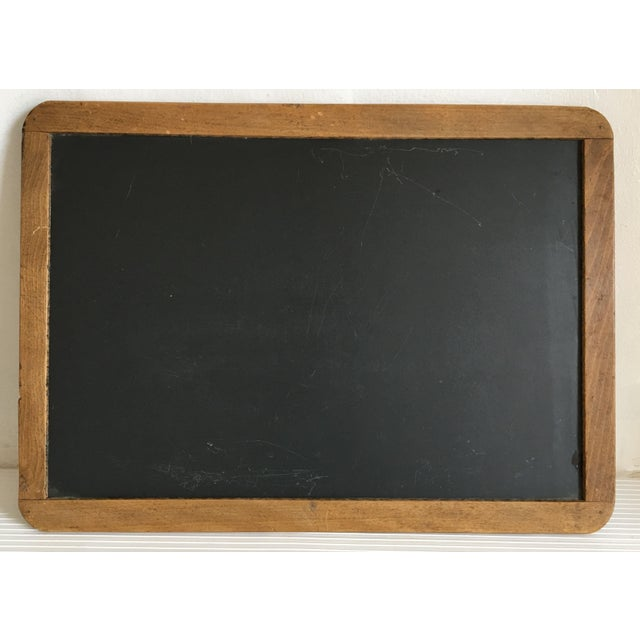 moving sale antique school slate chalk board chairish