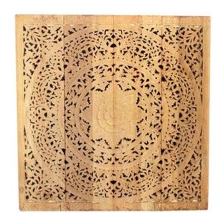 Natural Medium Lotus Panel For Sale
