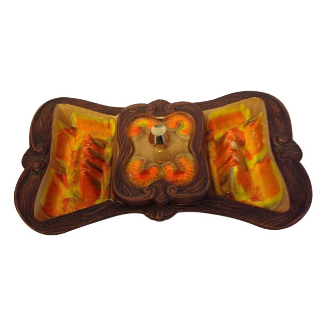 Vintage California Pottery Cigar Tray - Image 1 of 5