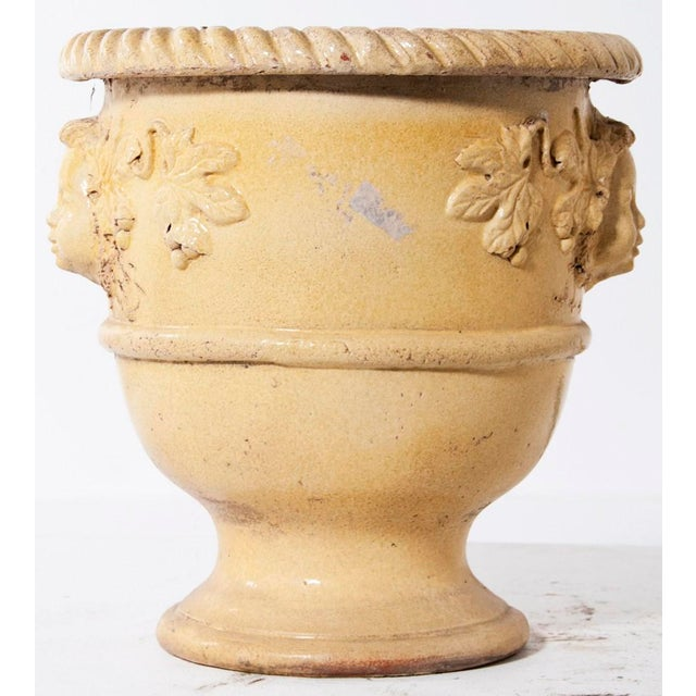 Early 20th Century Early 20th Century Earthenware Glazed Urn For Sale - Image 5 of 9