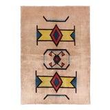 Image of Vintage Mid-Century Turkish Rug - 5′6″ × 8′1″ For Sale