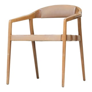 Armrest Chair in the Manner of Rastad and Relling For Sale