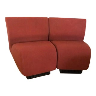 Don Chadwick for Herman Miller Modular Slipper Chairs - A Pair