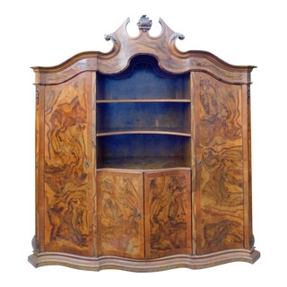 1920s French Oakwood Hutch For Sale