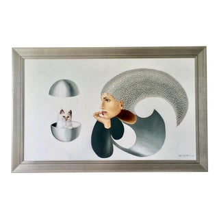 "Gabriela Garza Padilla ""Unforgettable"" Painting For Sale"