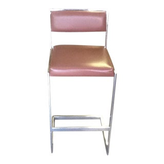 Chrome Thonet Bar Stool