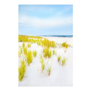 "Cheryl Maeder ""Hamptons Dunes"" Archival Photographic Watercolor Print For Sale"