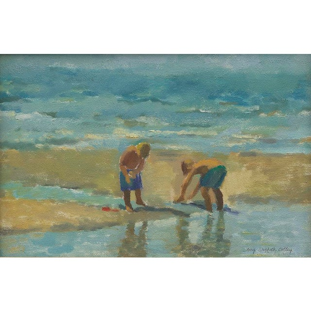 """Contemporary Amy Griffith Colley """"Boys at the Beach 2"""" Print For Sale - Image 3 of 3"""