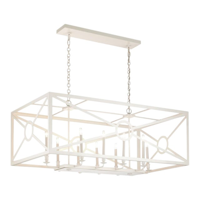 Chilton Grove Chandelier, White For Sale