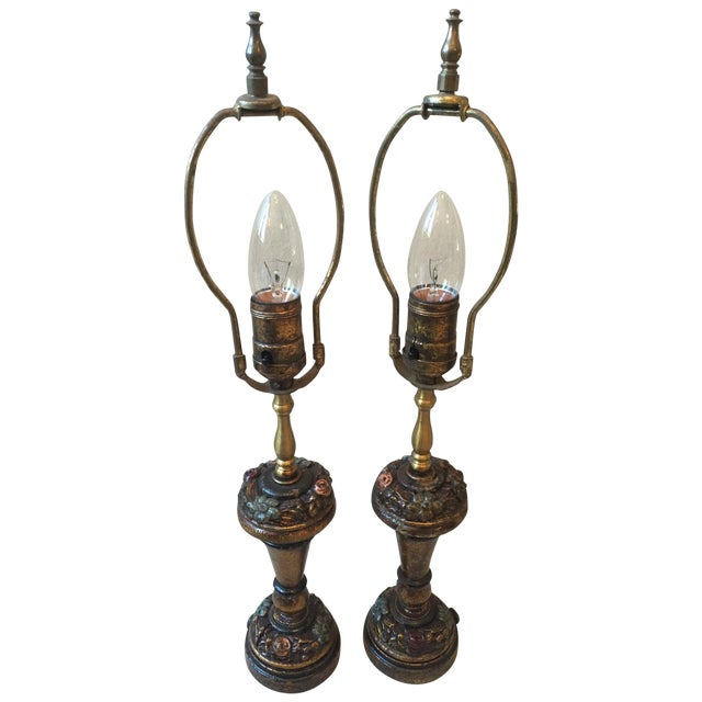 Little Lady Bedroom Lamps - 2 For Sale