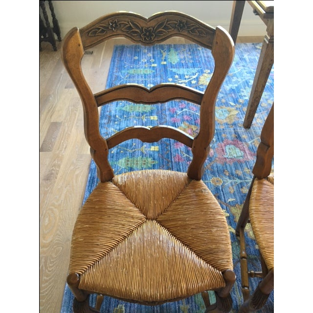 Pierre Deux French Country Dining Chairs - 6 For Sale - Image 10 of 11