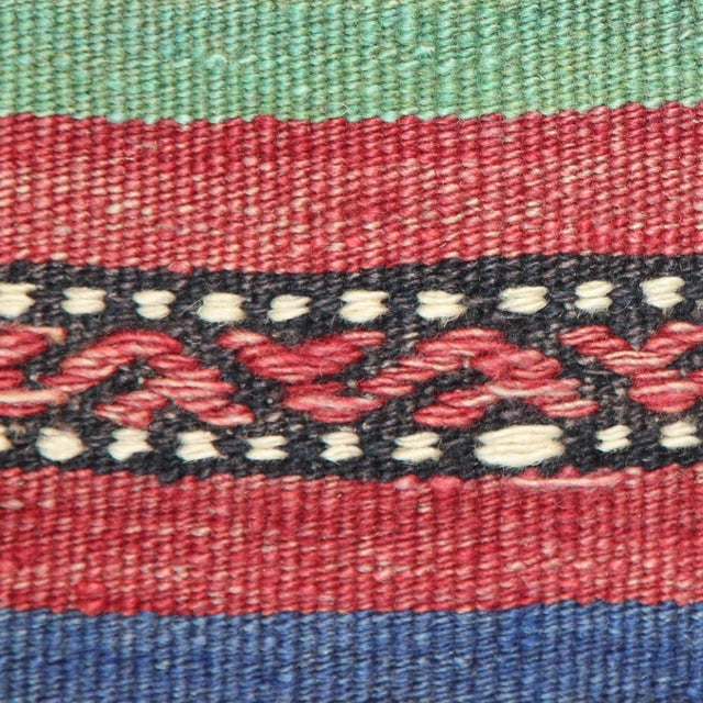 Turkish Handmade Kilim Pillow Cover - Image 6 of 7