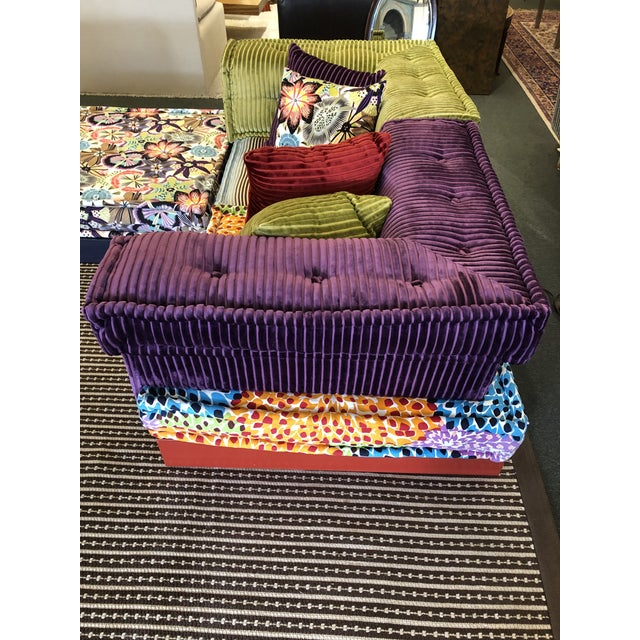 Missoni Mah Jong Sectional by Roche Bobois For Sale In San Francisco - Image 6 of 13
