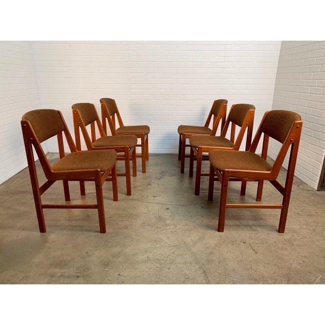 Danish Modern Dining Chairs by Artfurn, Denmark For Sale In Dallas - Image 6 of 13
