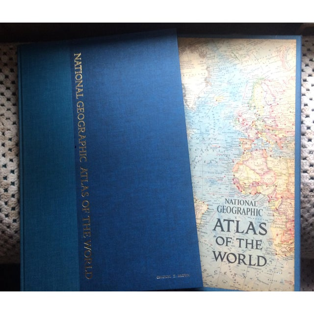 1960s 1963 National Geographic Atlas of the World First Edition Book For Sale - Image 5 of 12