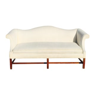 Vintage Southwood Camelback Down Filled Sofa