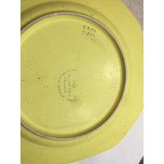Yellow Quimper Pottery Dinnerware - 36 Pieces Preview