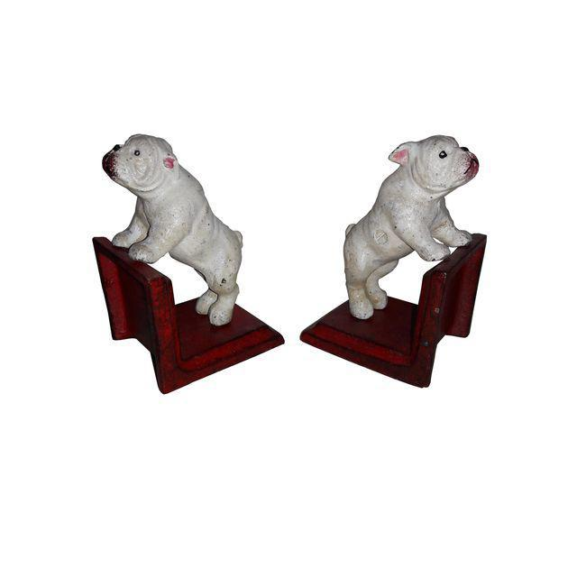 Cast Iron Bull Dog Bookends - A Pair - Image 4 of 5
