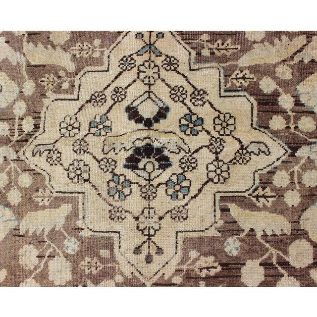 Textile Semi Antique Lilihan Rug - 4′3″ × 6′9″ For Sale - Image 7 of 13