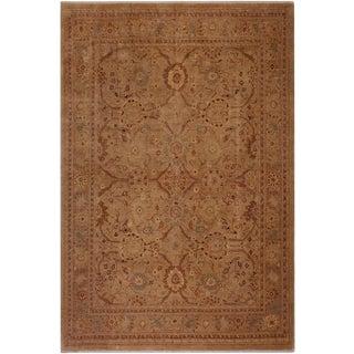 "Vintage Contemporary Ziegler Melisa Wool Rug -7'8"" X 9'4"" For Sale"