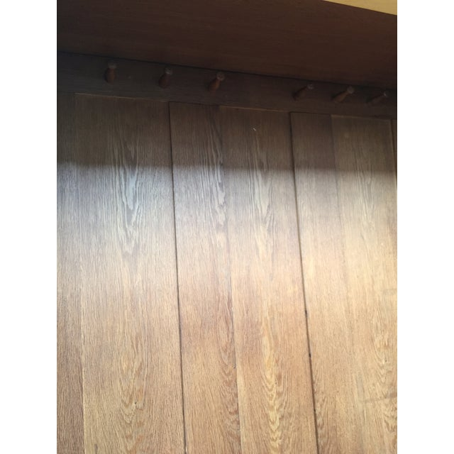 August Ungethum Vintage Art Deco Sycamore Cabinet - Image 6 of 8