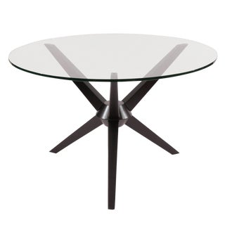 Sculptural Ebonized Maple Dining Table For Sale
