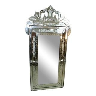 Vintage Venetian Style Mirror For Sale
