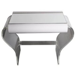 Hill Manufacturing Vanity on Lucite Base