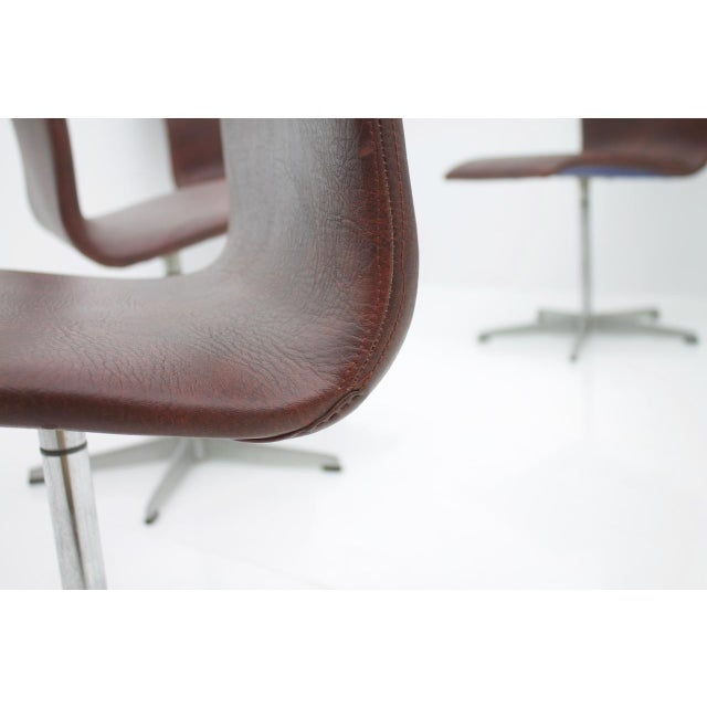 6x Arne Jacobsen Oxford Chairs by Fritz Hansen Denmark For Sale - Image 10 of 12