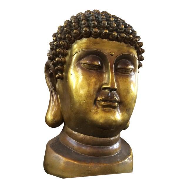 Early 20th Century Buddha Head For Sale