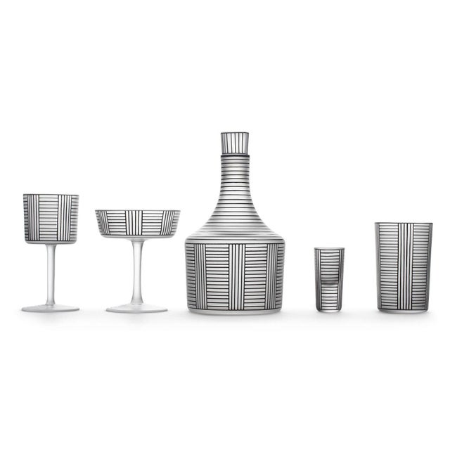"""2010s """"Series B"""" Wine Glass by Josef Hoffmann For Sale - Image 5 of 6"""