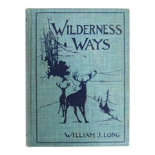 Wilderness Ways Book For Sale