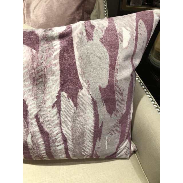 Abstract Boho Chic Classic Home Whitney Square Pillow For Sale - Image 3 of 5