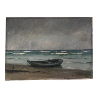 Antique Seascape Painting For Sale