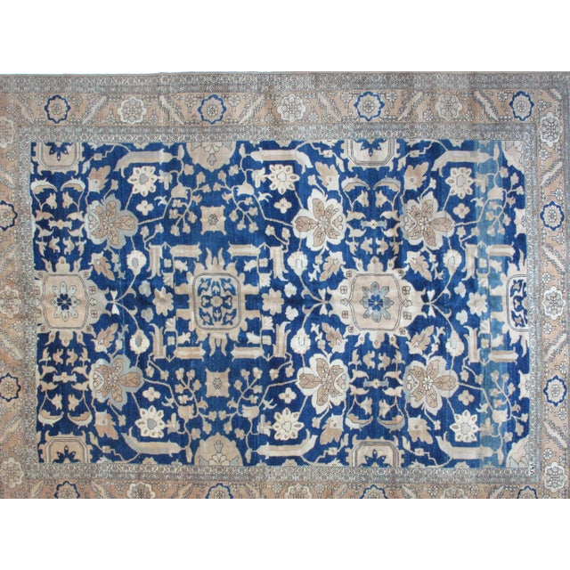 Leon Banilivi Blue Bakhshaish Carpet - 9′10″ × 12′10″ - Image 2 of 4