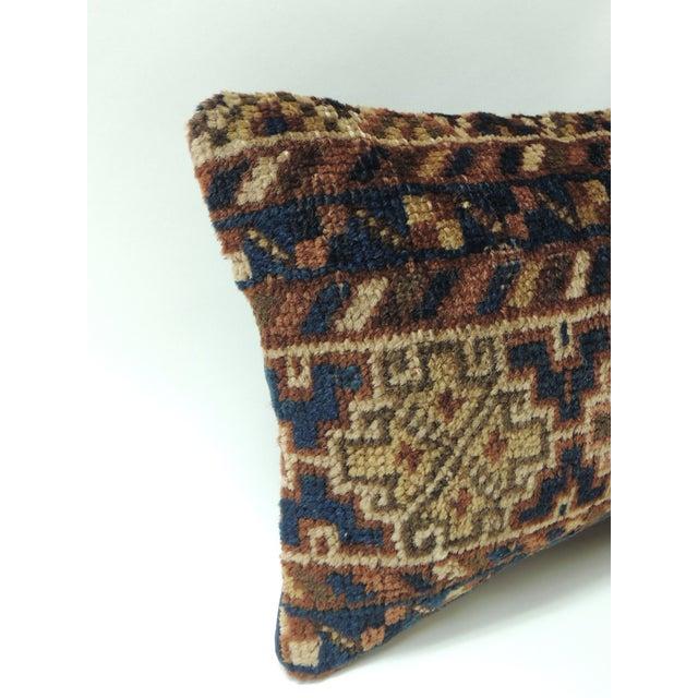 Vintage Bidjar rug fragment decorative lumbar pillow Vintage Bidjar rug fragment decorative lumbar pillow, traditional...