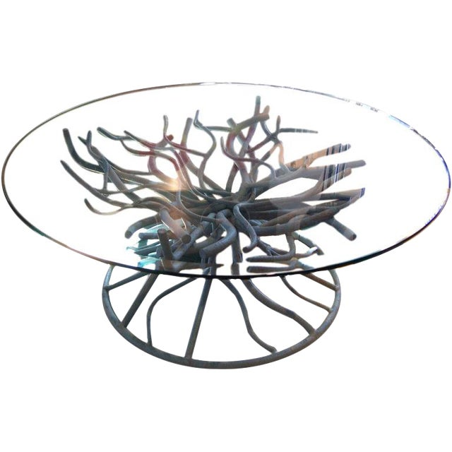 Iron Coral Branch Cocktail Table - Image 1 of 3