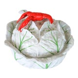 Image of Italian Cabbage Soup Tureen W/ Ladle For Sale