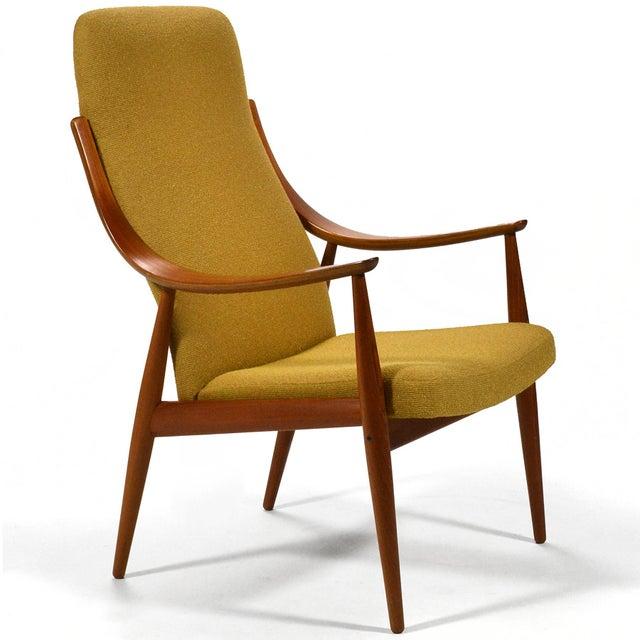 France & Daverkosen Peter Hvidt & Orla Mølgaard-Nielsen High Back Easy Chair For Sale - Image 4 of 11