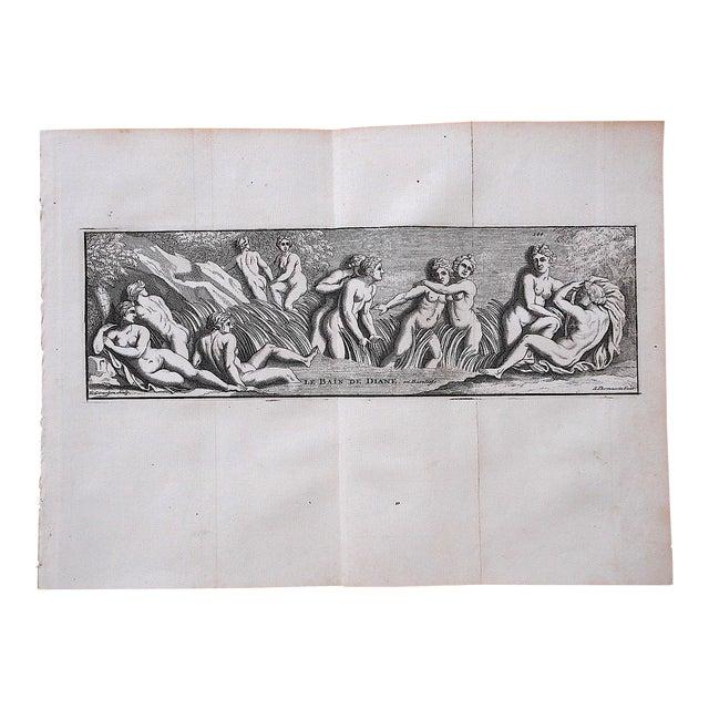 Antique 19th C. Engravings-Sculpture of Herculaneum & Pompeii For Sale