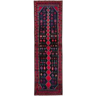 "Vintage Persian Hamadan Runner - Size: 1' 11"" X 6' 5"" For Sale"