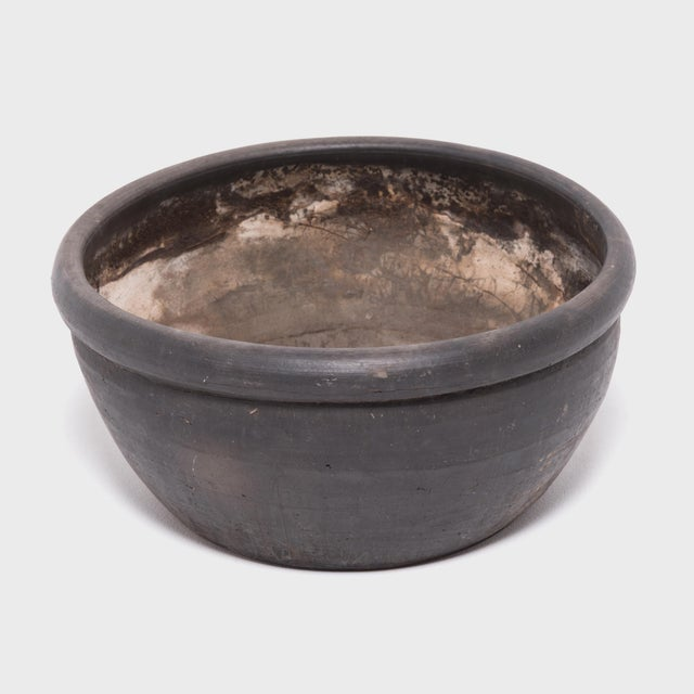Chinese Black Clay Basin For Sale In Chicago - Image 6 of 6