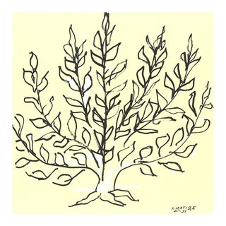 Henri Matisse, Le Buisson, 2010, Lithograph For Sale