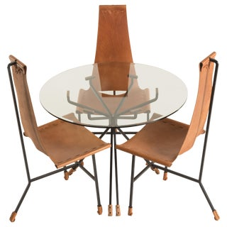Mid-Century Modern Dinnette Set - 4 Pieces For Sale