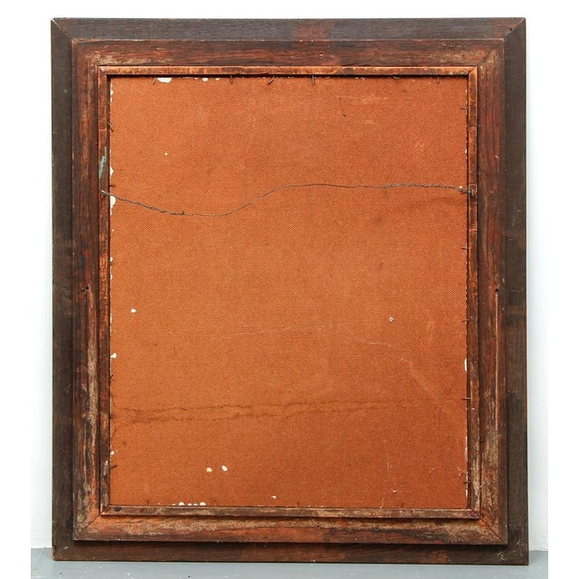 1940's Oil on Board Painting by N. Rosfeld, Framed For Sale - Image 4 of 7