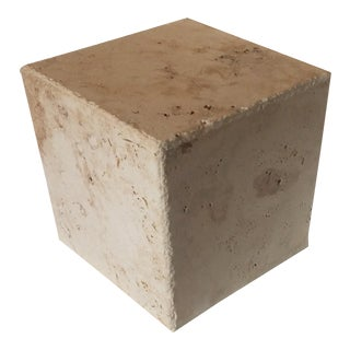 Alejandro Rocha Large Cube 1 Sculptural Object For Sale