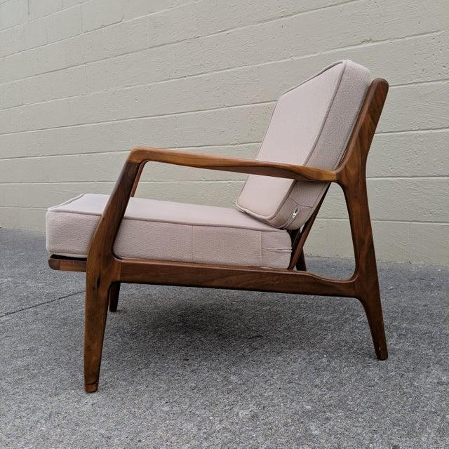1960s Mid-Century Ib Kofod-Larsen Danish Lounge Chair For Sale - Image 5 of 13